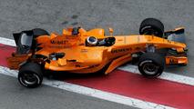Pedro de la Rosa in McLaren MP4-21 23.01.2006 Formula One Testing Circuit de Catalunya