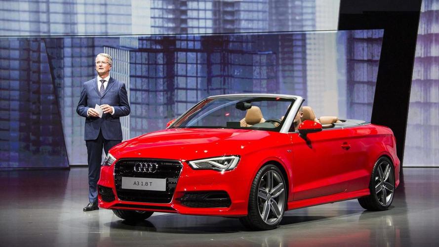 2014 Audi A3 Cabriolet bows in Frankfurt