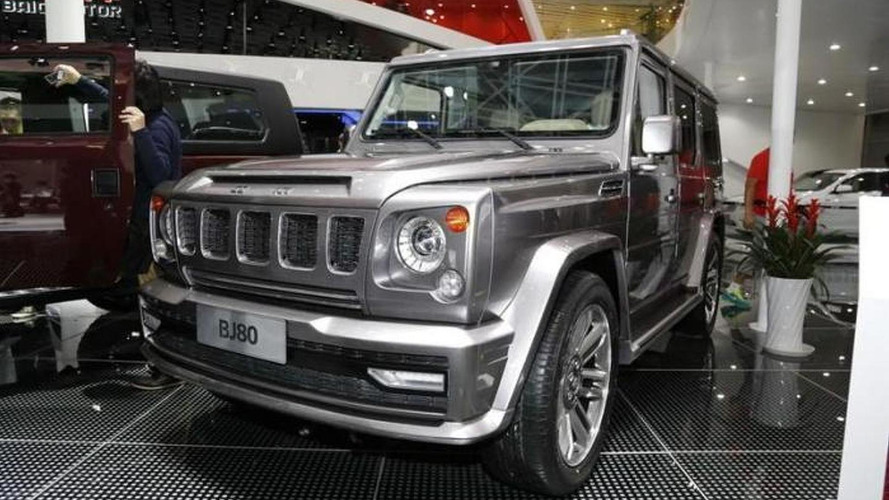 Beijing Auto BJ80 debuts in Beijing as G-Class copycat