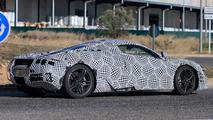 McLaren P14 casus fotoğrafları