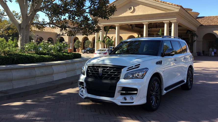 Infiniti QX80 gets in-your-face tuning