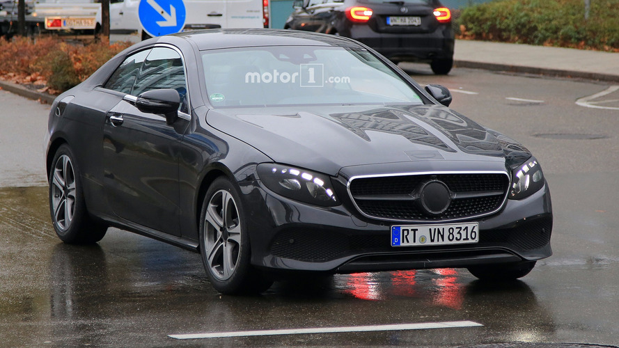 Mercedes E-Class Coupe and Convertible spy photos