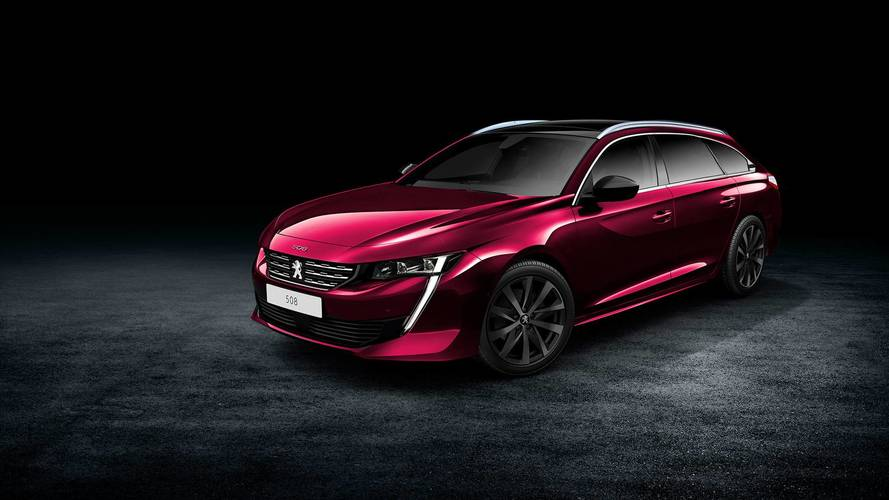 New Peugeot 508 Is Predictably Gorgeous In Wagon Render
