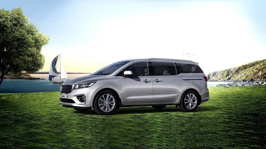 Kia Sedona Refresh Previewed In South Korea By Updated Carnival