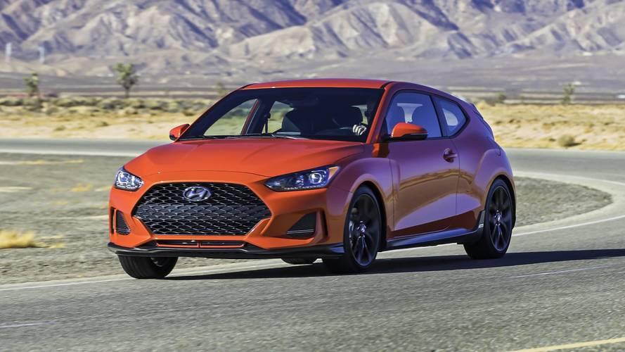 2018 Hyundai Veloster hızlı görünen tasarımla geldi