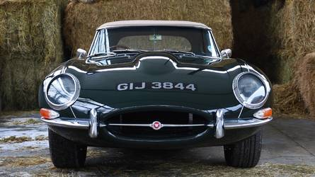 Ultra rare Jaguar E-Type up for sale