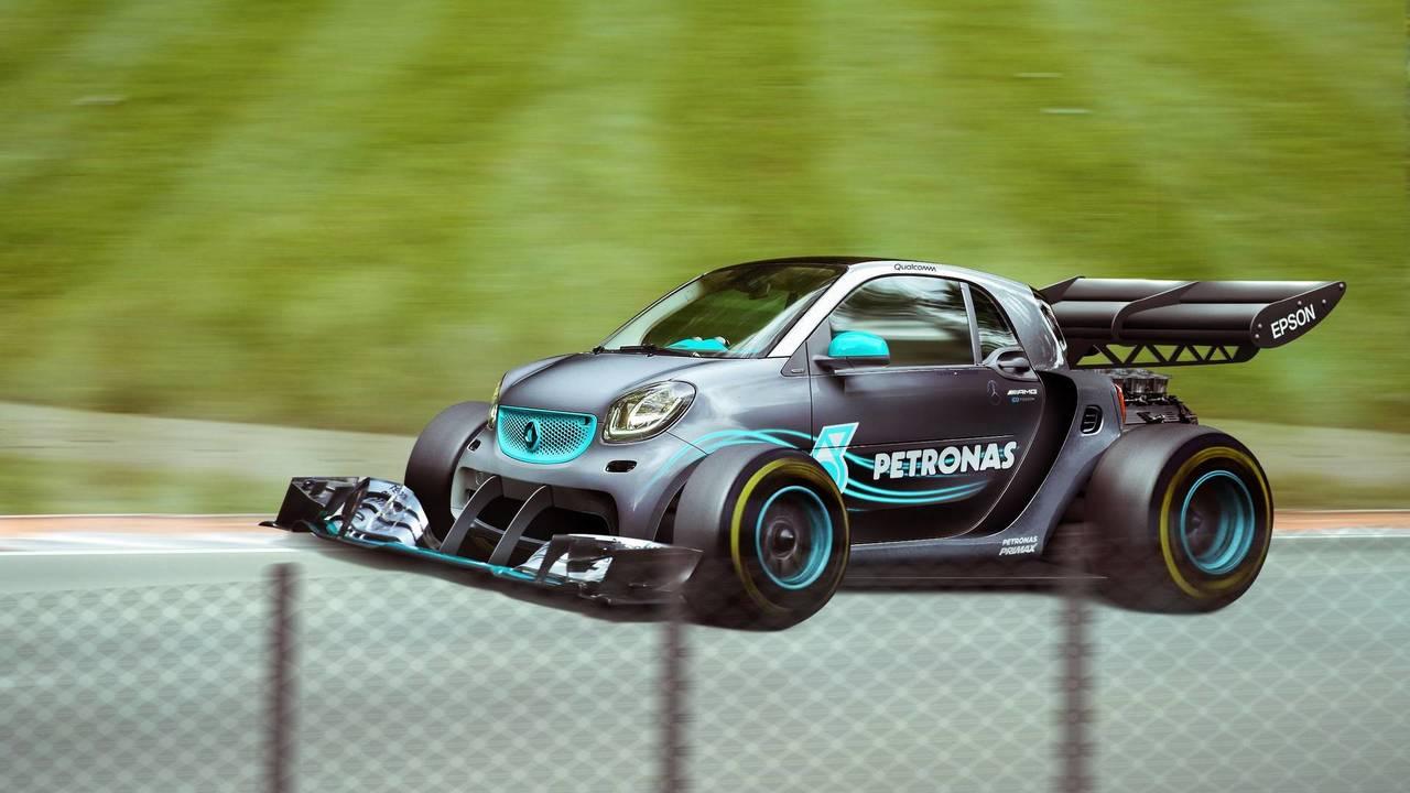 Mercedes-AMG Smart Car