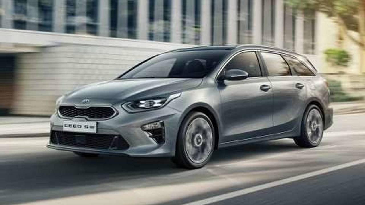 2018 Kia Ceed Sportswagon leaked official image