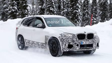 BMW X3 M çok az kamuflajla görüntülendi