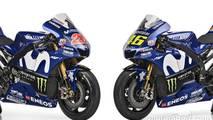 Yamaha apresenta moto de Rossi e Viñales para 2018