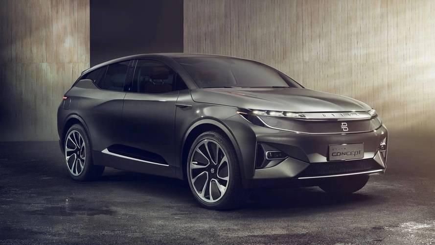 Byton Concept, un SUV 100 % électrique venu de Chine