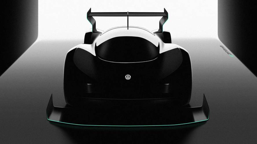 VW Gunning For EV Pikes Peak Record With New Electric Race Car