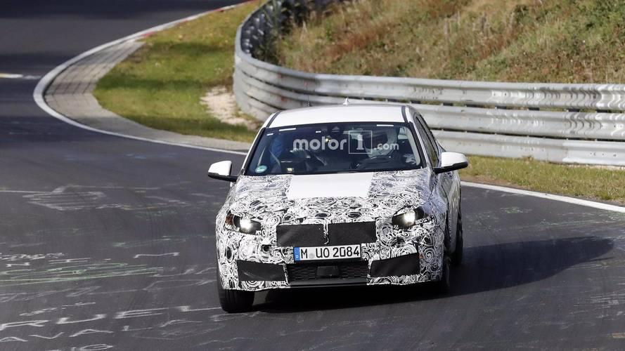 2019 BMW 1 Series interior spy photos