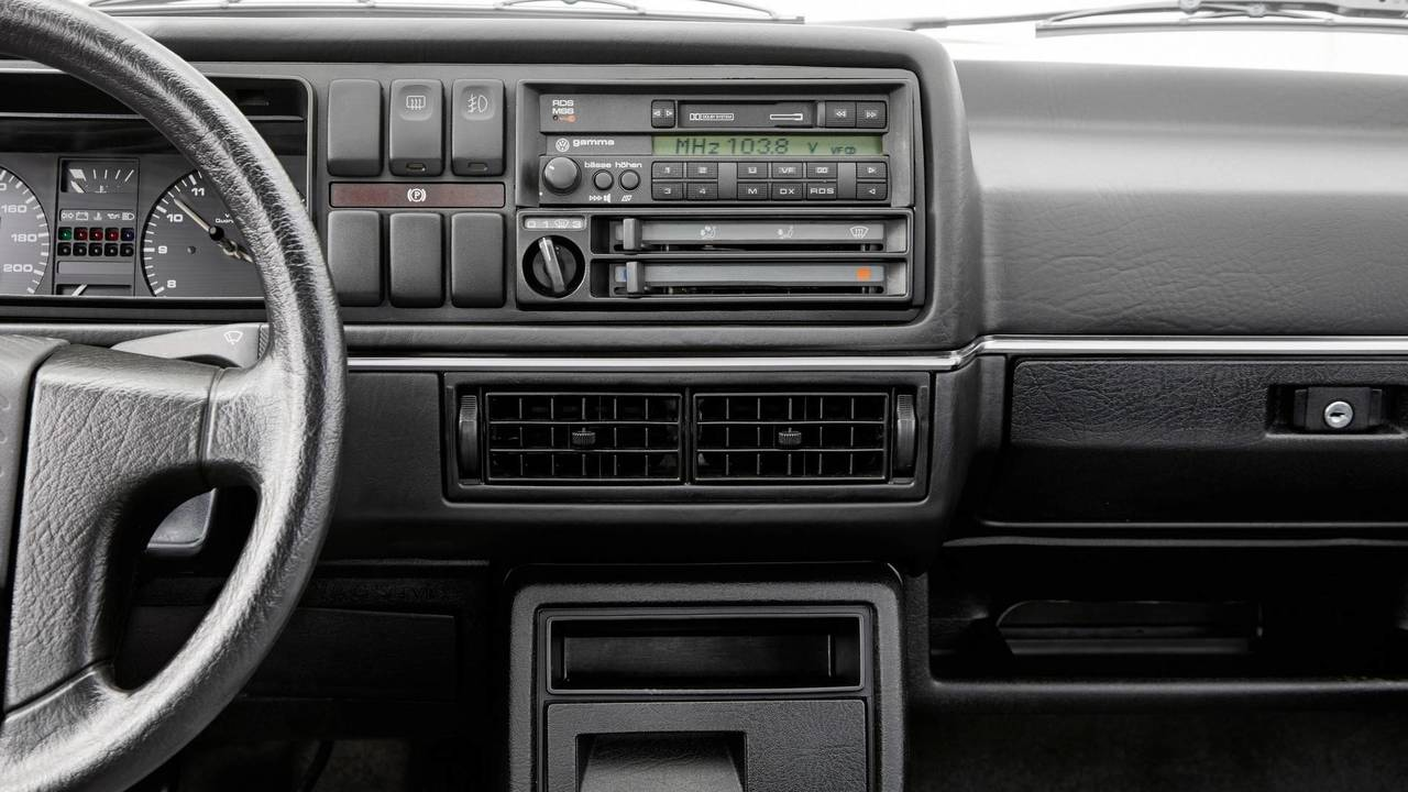 see how the vw golf 39 s radio has evolved over the years. Black Bedroom Furniture Sets. Home Design Ideas