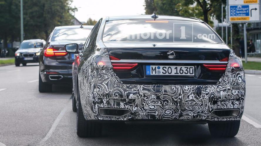 Makyajlı BMW 7 Serisi casus fotoğrafları