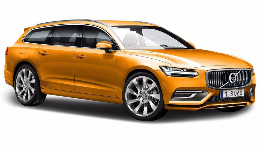 2019 Volvo S60 Is All New In Speculative Render