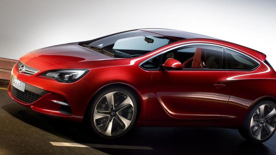 Opel GTC Paris concept previewed