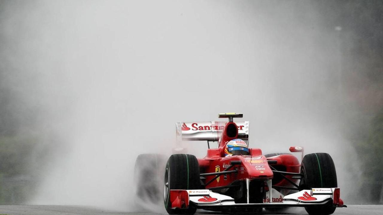 Fernando Alonso (ESP), Scuderia Ferrari, Malaysian Grand Prix, Saturday Qualifying, 03.04.2010 Kuala Lumpur, Malaysia