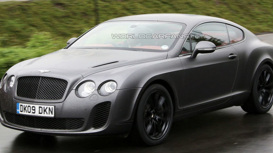 Bentley Supersports Biofuel Caught on the Road