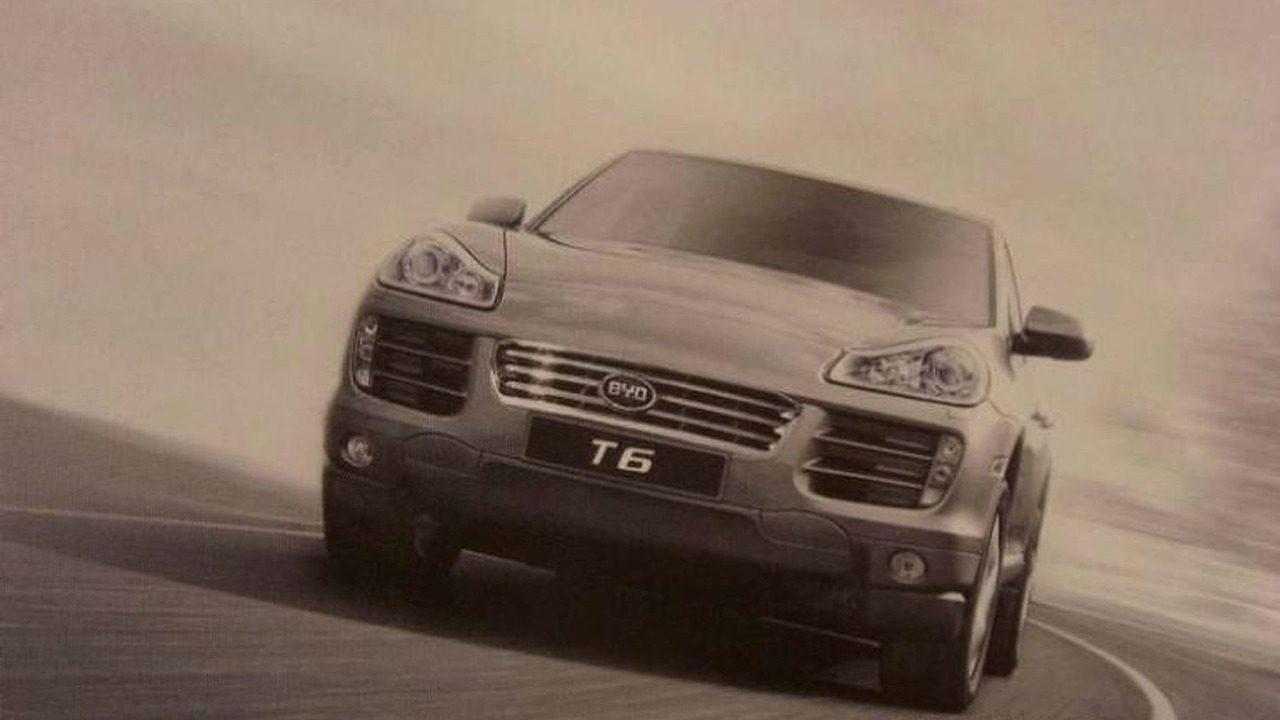 BYD T6 rendered speculation