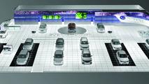 Subaru booth illustration, Geneva Auto Salon 2010