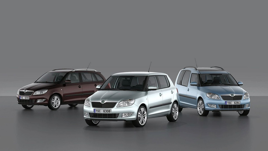 Skoda Fabia and Roomster Facelifts Previewed