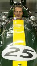 Jacques Villeneuve in Clark's Lotus Type 25, 28.11.2009