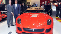 Ferrari 599XX at Geneva