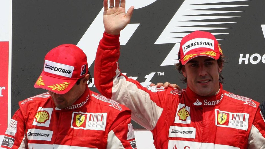 Team order ban 'incompatible with reality' - Ferrari