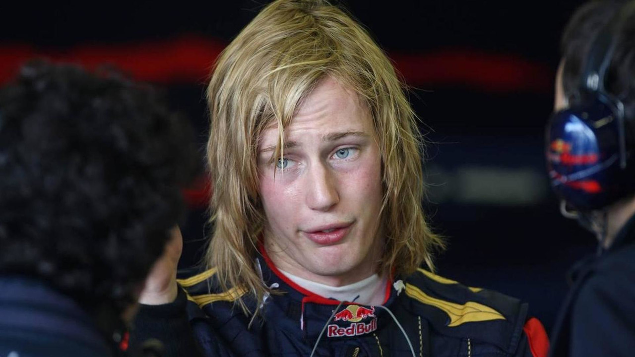 Brendon Hartley (NZL), Tests for Scuderia Toro Rosso, 03.12.2009 Jerez, Spain