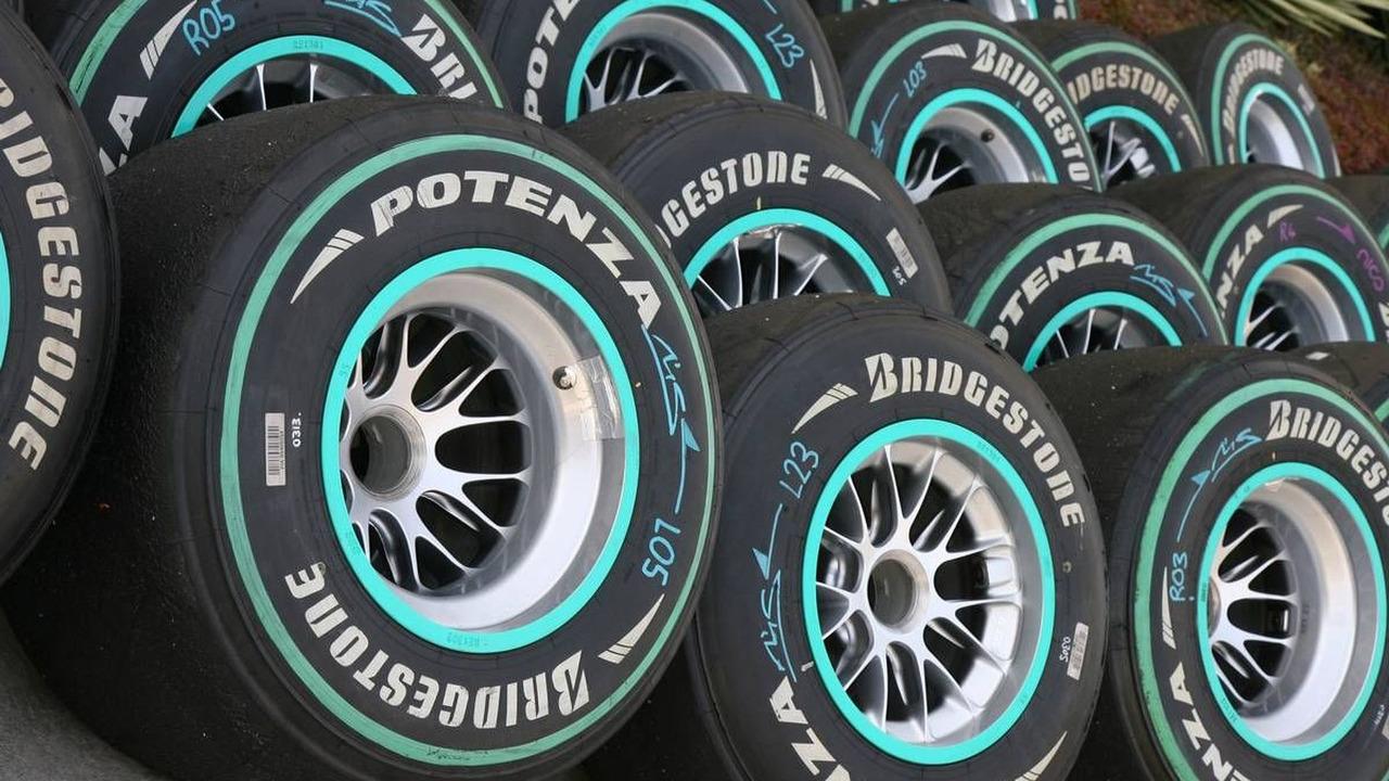 Bridgestone tyres, Bahrain Grand Prix, 13.03.2010 Sakhir, Bahrain