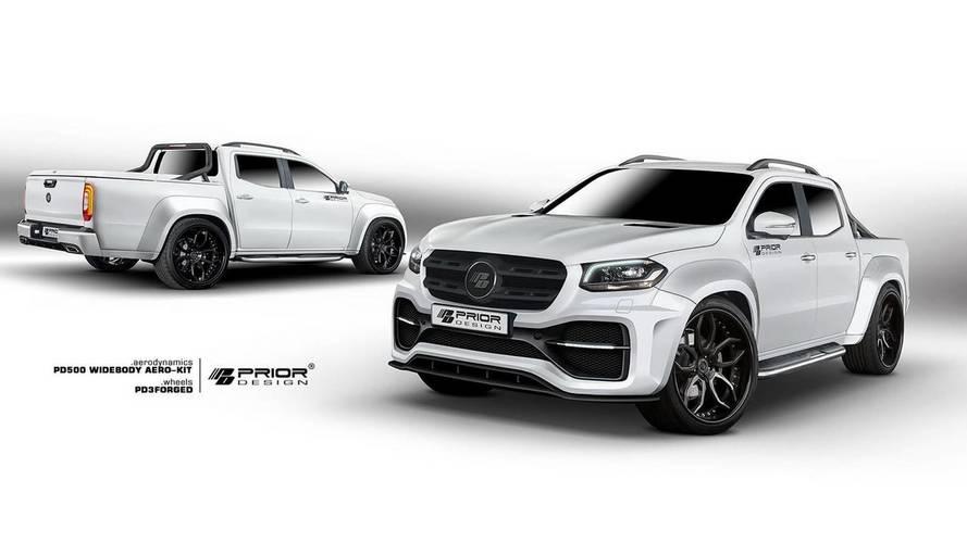 Mercedes-Benz X Serisi'ne Prior Design'dan kaslı bir görünüm
