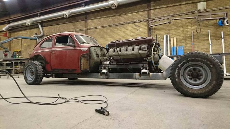 Bonkers Builder Gives Vintage Volvo A 38-Liter Tank Engine