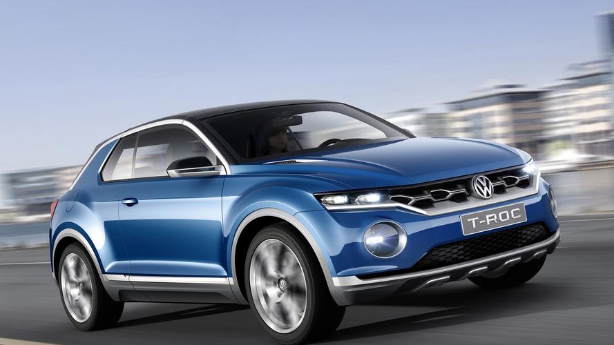 Volkswagen'in kompakt crossover'ı T-Roc 2019'da Amerika'da