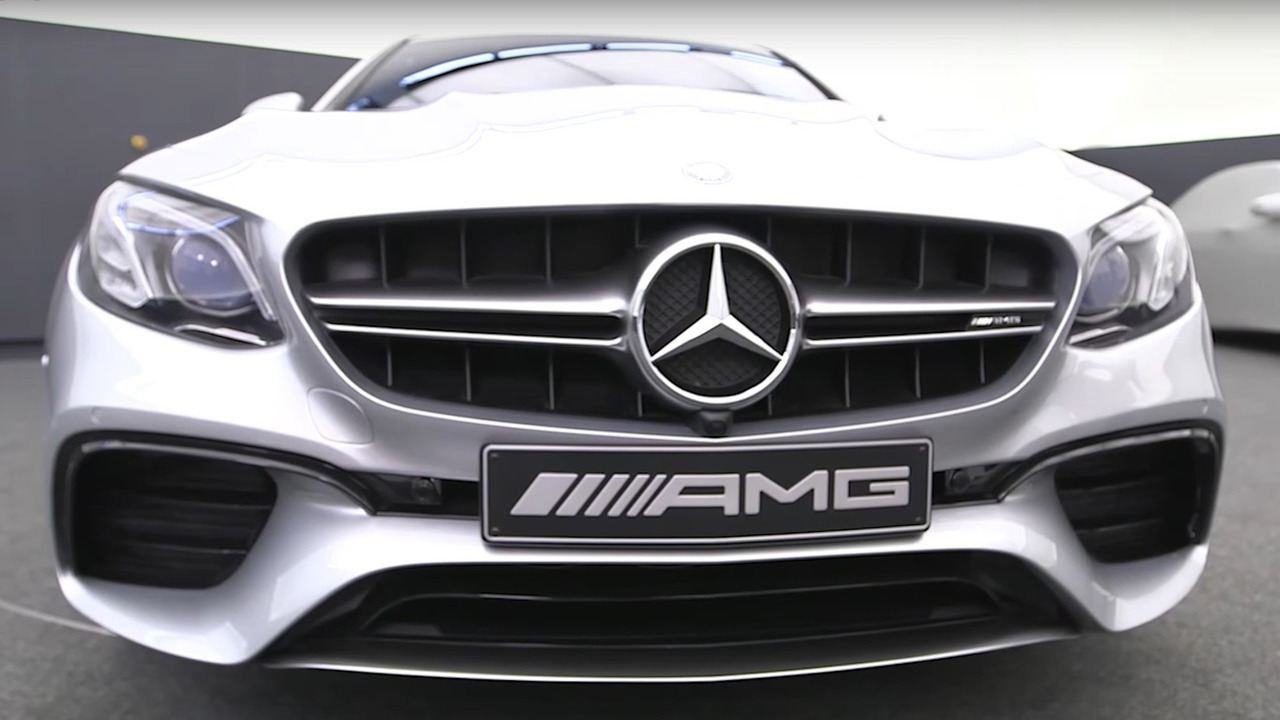2018 mercedes amg e63 revealed with 603 hp and drift mode for Mercedes benz e63 amg 2018