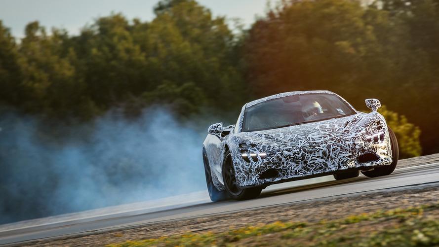 McLaren P14'ün kendine has 'drift modu' olacak