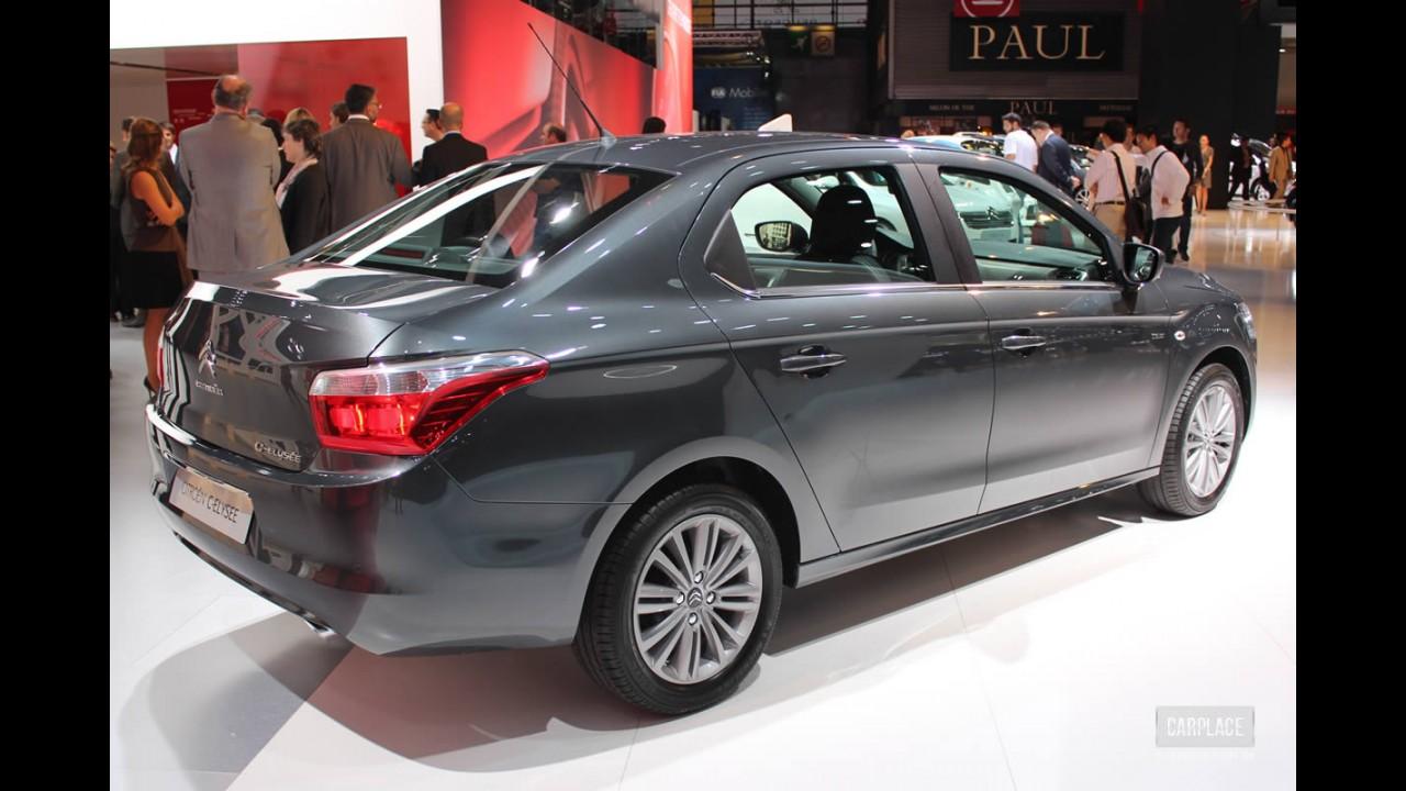 Irmão do Peugeot 301, Citroën C-Elysée será lançado na Argentina em breve