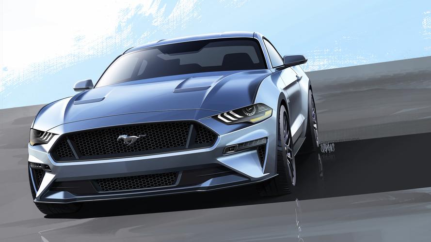 Mustang 2018 teve visual inspirado no Darth Vader, diz designer