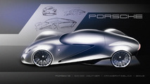Porsche 'Rebel' Sports Car Concept