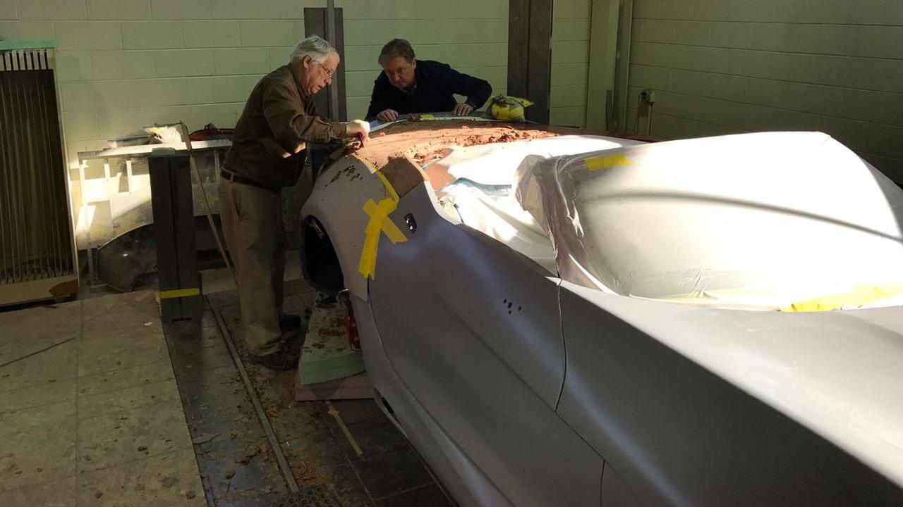 VLF Automotive Force 1 Roadster teaser