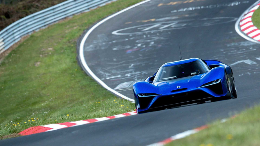 Nio EP9 Destroys Lamborghini's Just-Broken Nurburgring Lap Record