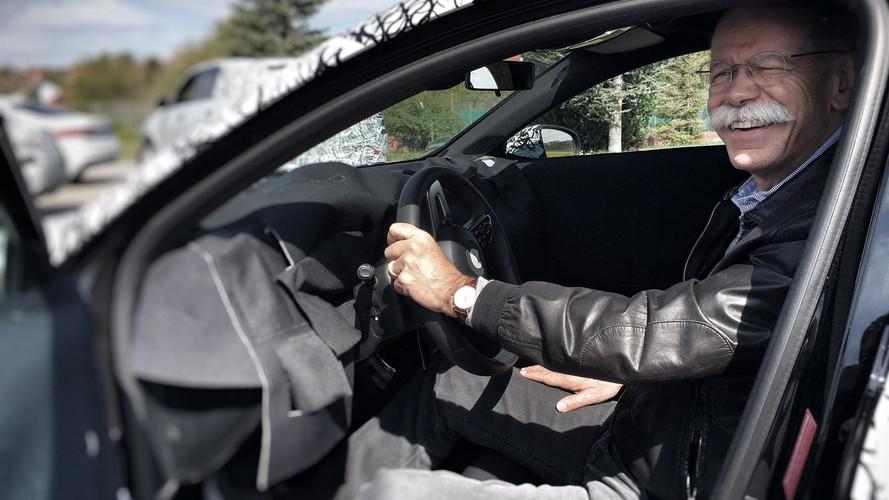 2019 Mercedes A-Class teaser
