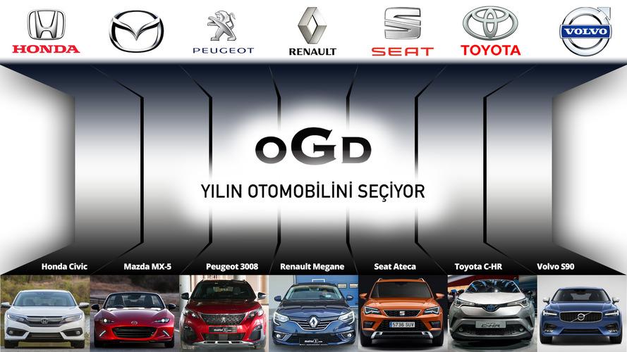 OGD 2017 Yılın otomobili Seçimi adayları