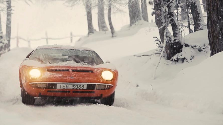 Lamborghini Miura karda oldukça etkileyici