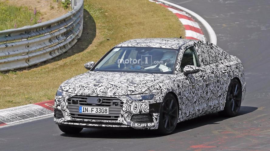 Audi S6 2018: fotos espía en Nürburgring