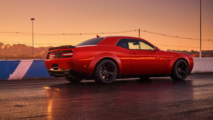 2018 Dodge Challenger SRT Demon Mega Galeri (228 Fotoğraf)