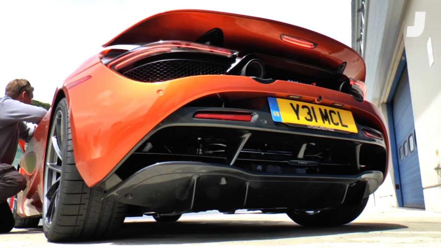 VIDÉO - La McLaren 720S fait plus de bruit grâce à ce mode caché
