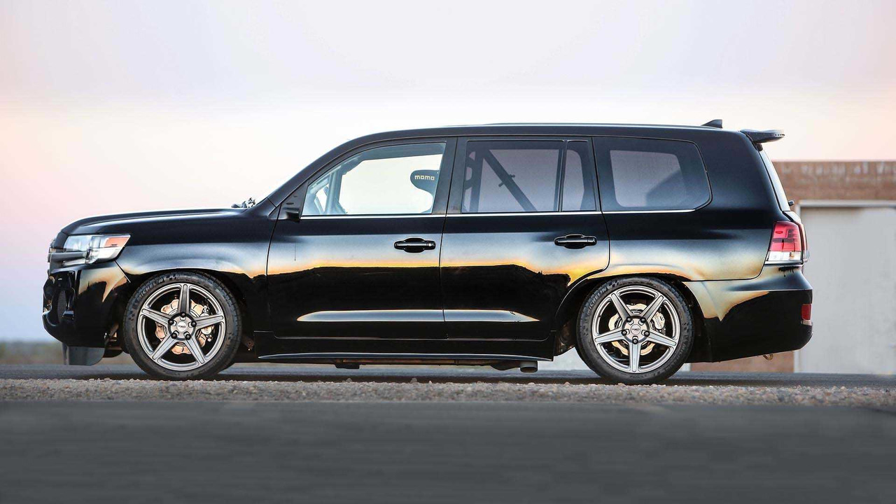 Toyota Builds A 230 Mph Land Cruiser To Claim Fastest Suv