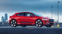 Jaguar I-Pace Concept vermelho