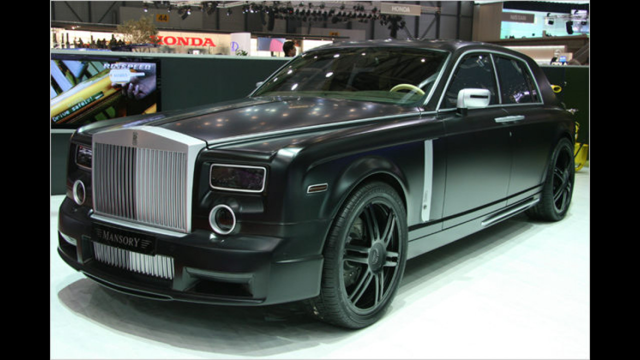 Der Rolls Royce Conquistador basiert auf dem Phantom und war 2007 eines der schärfsten Autos in Genf